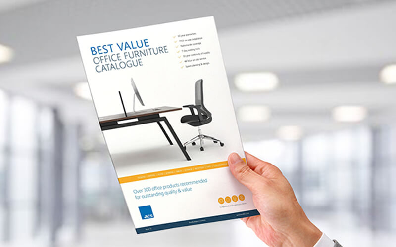 Best Value Office Furniture Catalogue | ACS 365