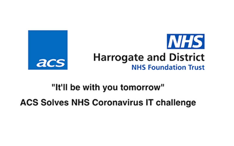 Harrogate and District NHS Foundation Trust | ACS 365