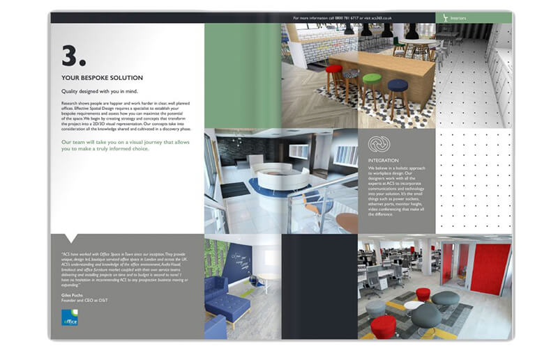 Our New Office Interiors Brochure | ACS 365