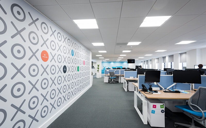 Xero Office Workspace Fit Out | ACS 365